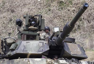 陸軍迎接新世代M1戰車