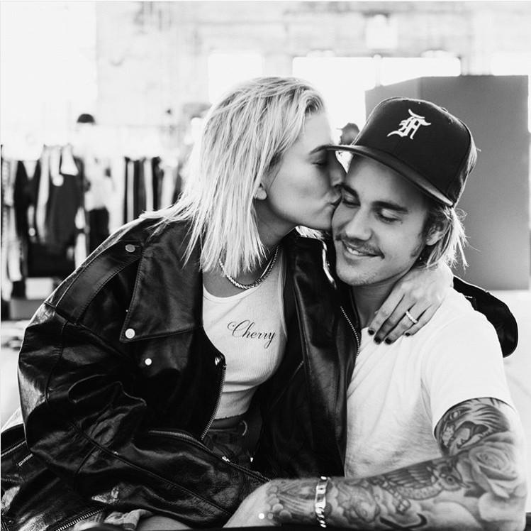 小賈斯汀(Justin Bieber)和海莉鮑德溫(Hailey Baldwin)。(圖/翻攝自小賈斯汀IG)