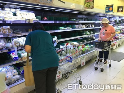 白鹿颱風來襲備貨增!全聯台北市118家門市加入平抑菜價行列