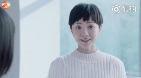 ▲郭采潔演出杉菜的學姊。(圖/翻攝自微博)