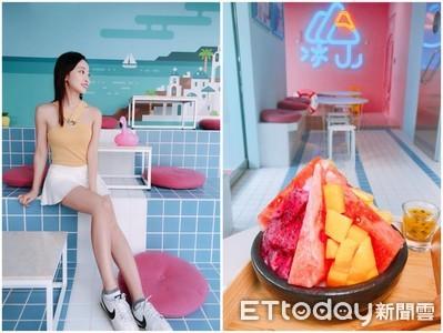 好滿足! 「冰山」上一次吃6種水果