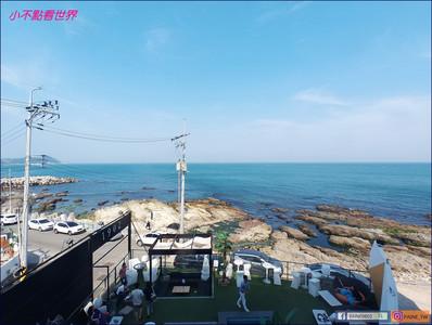 吃蛋糕配海景!釜山海景咖啡廳