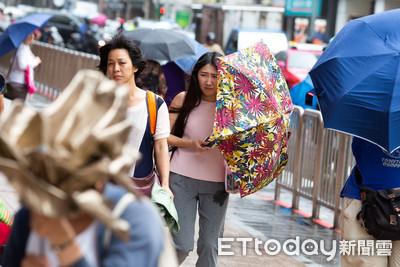 2張圖看強颱利奇馬放不放颱風假!