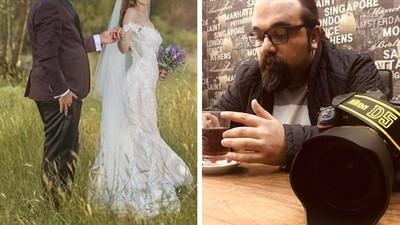 摔相機不拍了!15歲女孩「婚紗拍到哭」 攝影師怒毆無良新郎