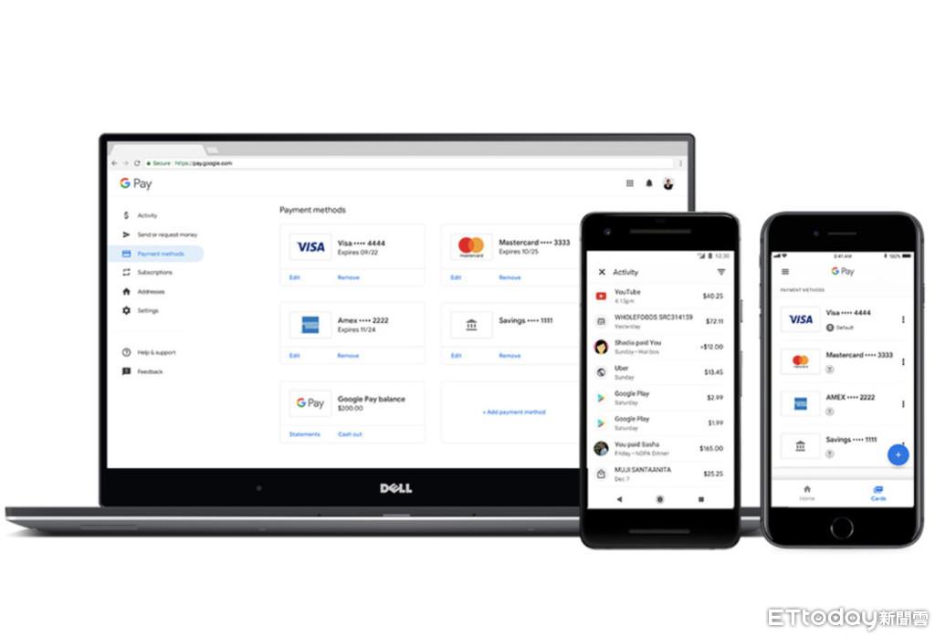 Google Pay在美國、英國開放購與付款功能
