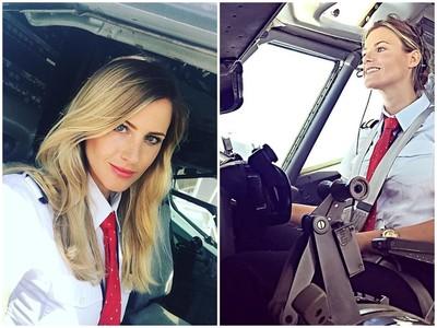 克服懼高!瑞典美髮師→最正女飛行員:沒比開飛機更爽的事
