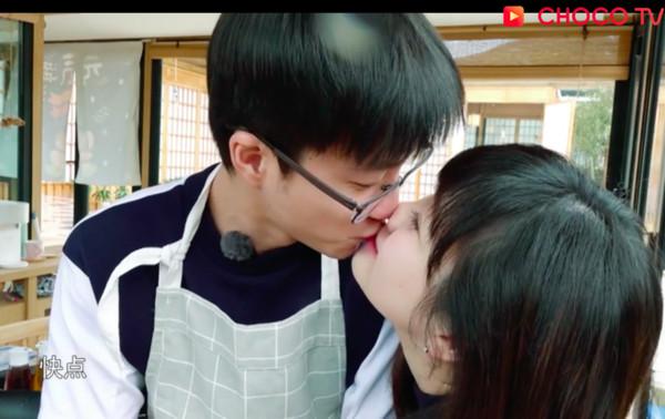 ▲福原愛、江宏傑《幸福三重奏》親100下放閃。(圖/翻攝CHOCO TV)