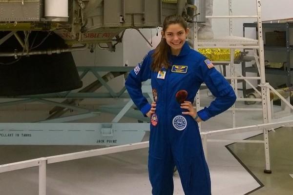 ▲▼17歲少女卡森(Alyssa Carson)立志成為第一批登上火星的人。(圖/翻攝自IG/nasablueberry)