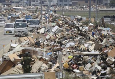 超級暴雨襲九州 氣象廳:保命快避難