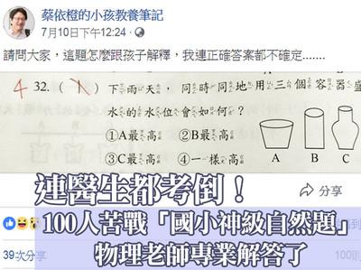 點播/蔡依橙的小孩教養筆記 採訪專業物理老師