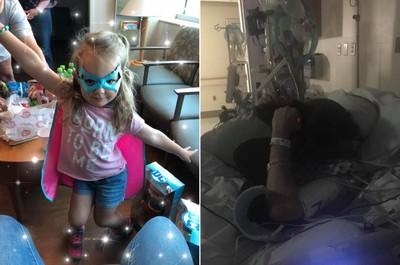 老爸中風倒地 3歲女兒視訊求救