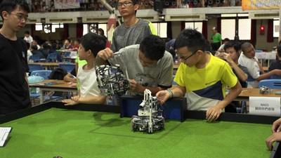 機器人大賽開打 EVOLTA挺自造者