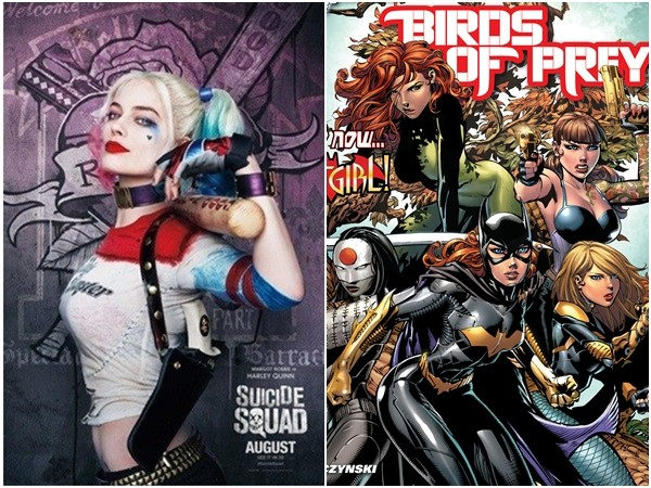 《猛禽小隊》(Birds of Prey)。(圖/《自殺突擊隊》劇照、《Birds of Prey》)