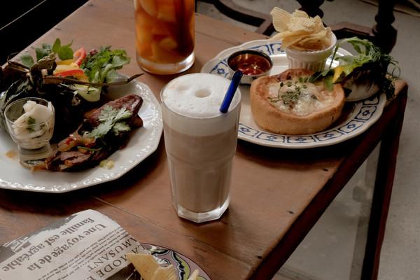 ▲▼台北社子島 56 Cafe。(圖/男子的日常生活提供)