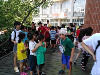 新竹高商大哥姐陪家扶兒童過暑假