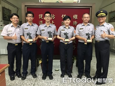 永康警分局4人錄取警大 分局長鼓勵