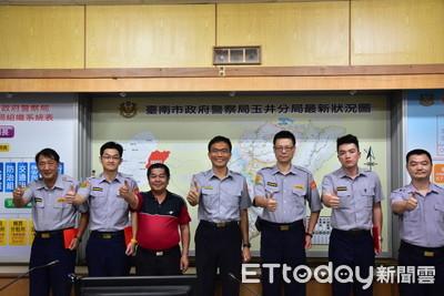 玉井警表揚4至6月績優人員