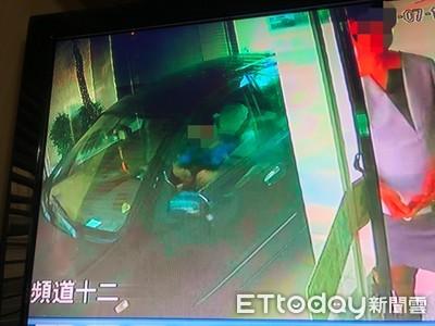 他大浴巾勒斃女友!屍體塞到後車廂到處瞎晃