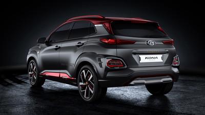 Hyundai Kona鋼鐵人版4月登台