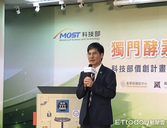 ▲ 科技部長陳良基表示,要透過價創計畫把實驗室的好成果帶出來,進一步地將成果變成商業價值。(圖/記者邱倢芯攝)