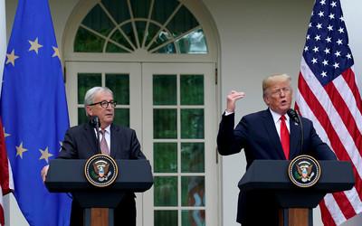 貿易戰暫緩!美國歐盟達成「零關稅」協議 川普稱大日子