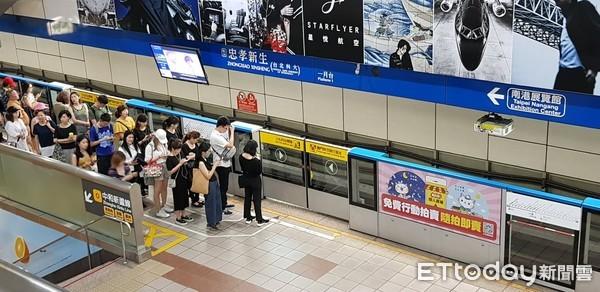 ▲▼捷運忠孝新生站。(圖/記者呂佳賢攝)