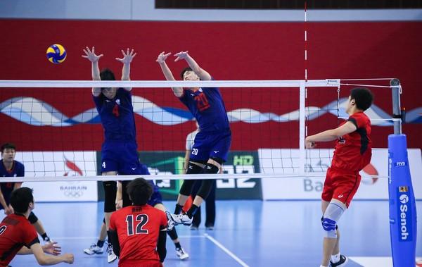 ▲中華U20男排勝日本。(圖/截自亞排聯網站)