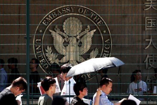 《華爾街日報》:中國警告美方應撤銷告訴 否則拘留境內美國公民