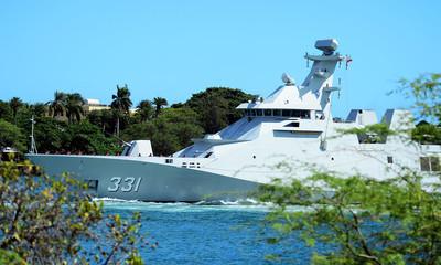 印尼首艘國產潛艇「 阿魯格羅號」下水