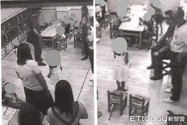 ▼林俊佑懷疑女兒在學校被欺侮,兩度帶著員警闖入幼兒園中「升堂審訊」。(圖/李麗芬辦公室提供)