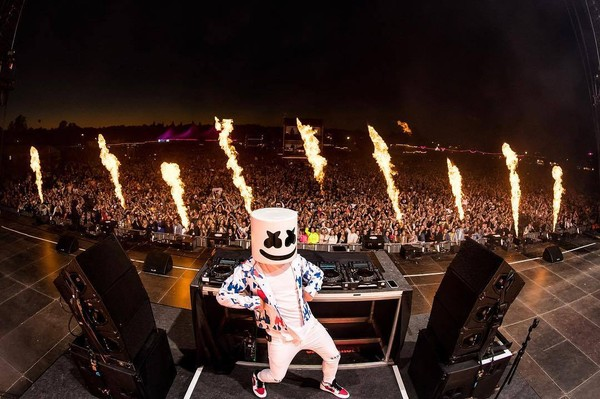 ▲▼Marshmello。(圖/翻攝自Facebook/Marshmello)