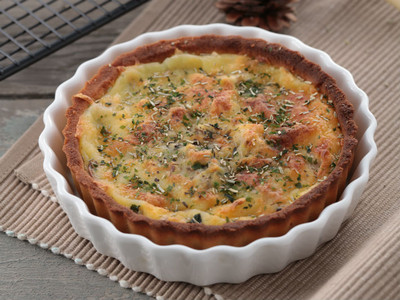 放冰箱最好吃!「菠菜鹹派」早餐點心皆適宜  滿足味蕾雙享瘦