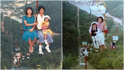 80年代「一根桿」纜車今天還在跑! 韓網友:打個噴嚏就與神同行