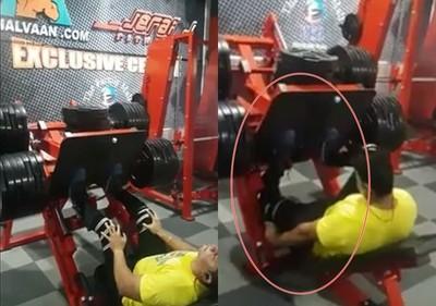 影/重訓做錯…他「膝蓋秒反折90度」!專家曝2原因「這動作練到斷腿」