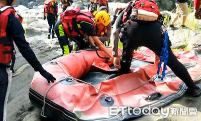6歲女童遭溪水沖走失聯21小時