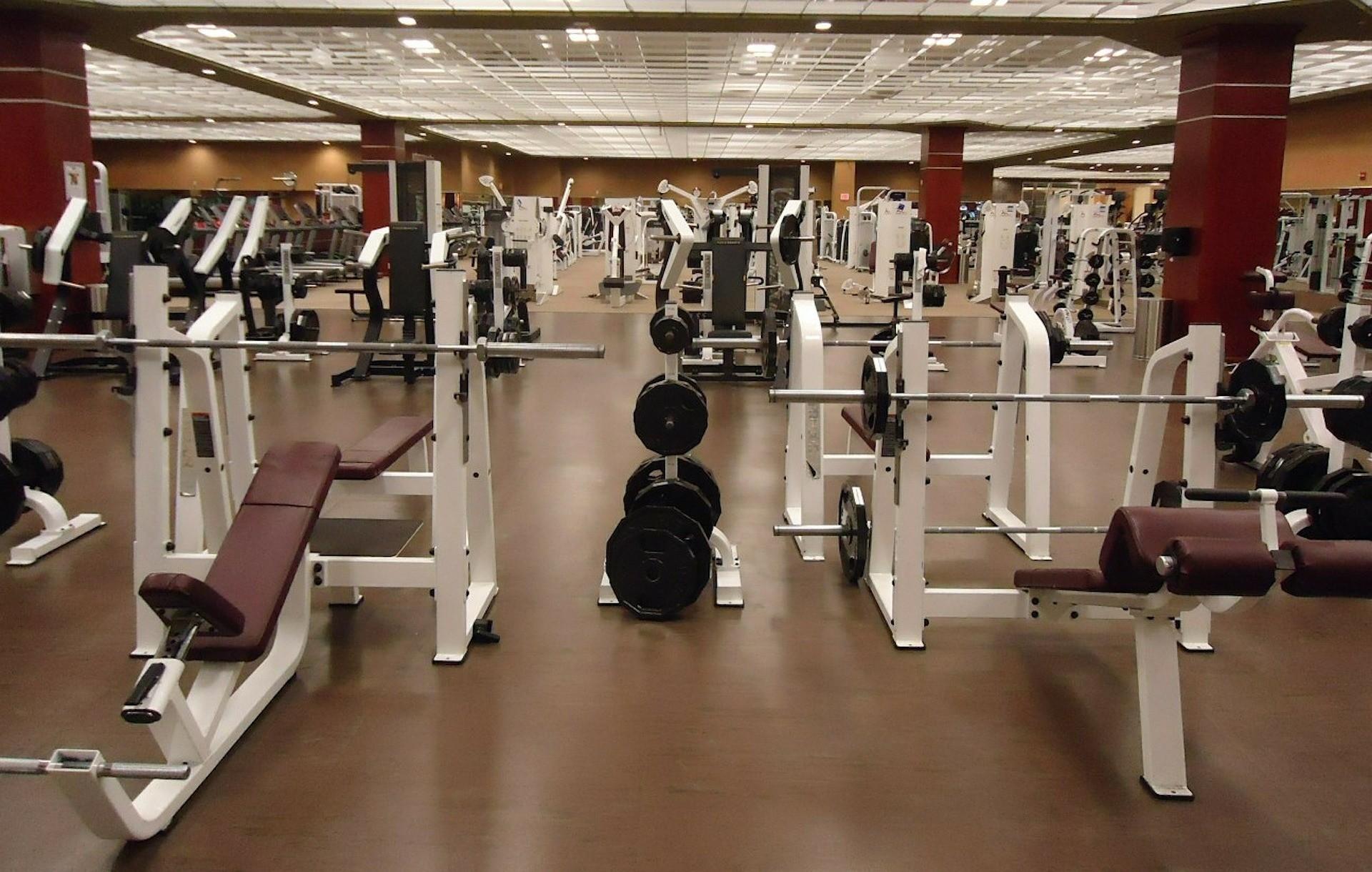 ▲▼健身房,健身器材。(圖/pixabay)