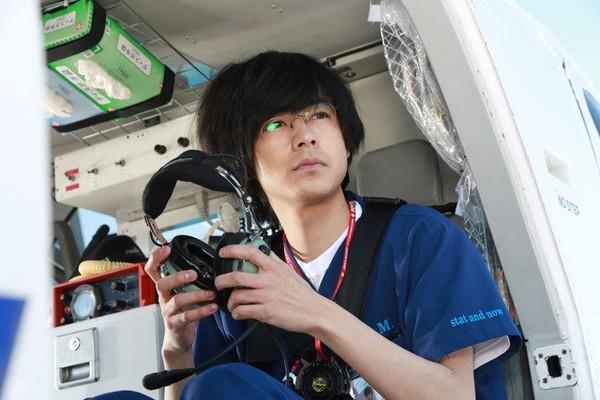 ▲▼成田凌主演《空中急診英雄》特別篇收視佳。(圖/翻攝自推特/劇場版空中急診英雄官推)