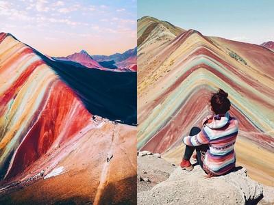 夢幻彩虹山,克服考驗才能看得到