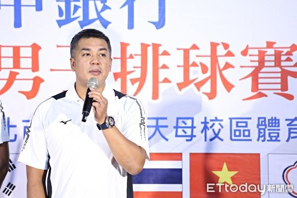 ▲男排總教練陳裕安。(圖/記者張克銘攝)