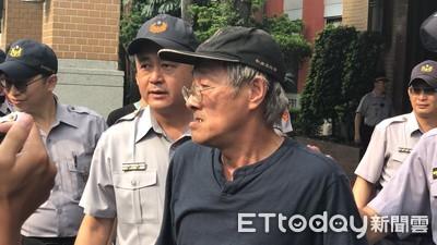 男曾提油桶到立院陳抗 2日又上門遭逮
