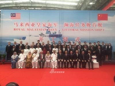 中國改良瀕海戰鬥艦 獲馬12億美元大單