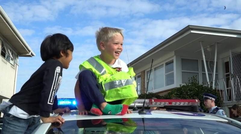 大檸檬用圖(圖/翻攝自臉書@Auckland City District Police)