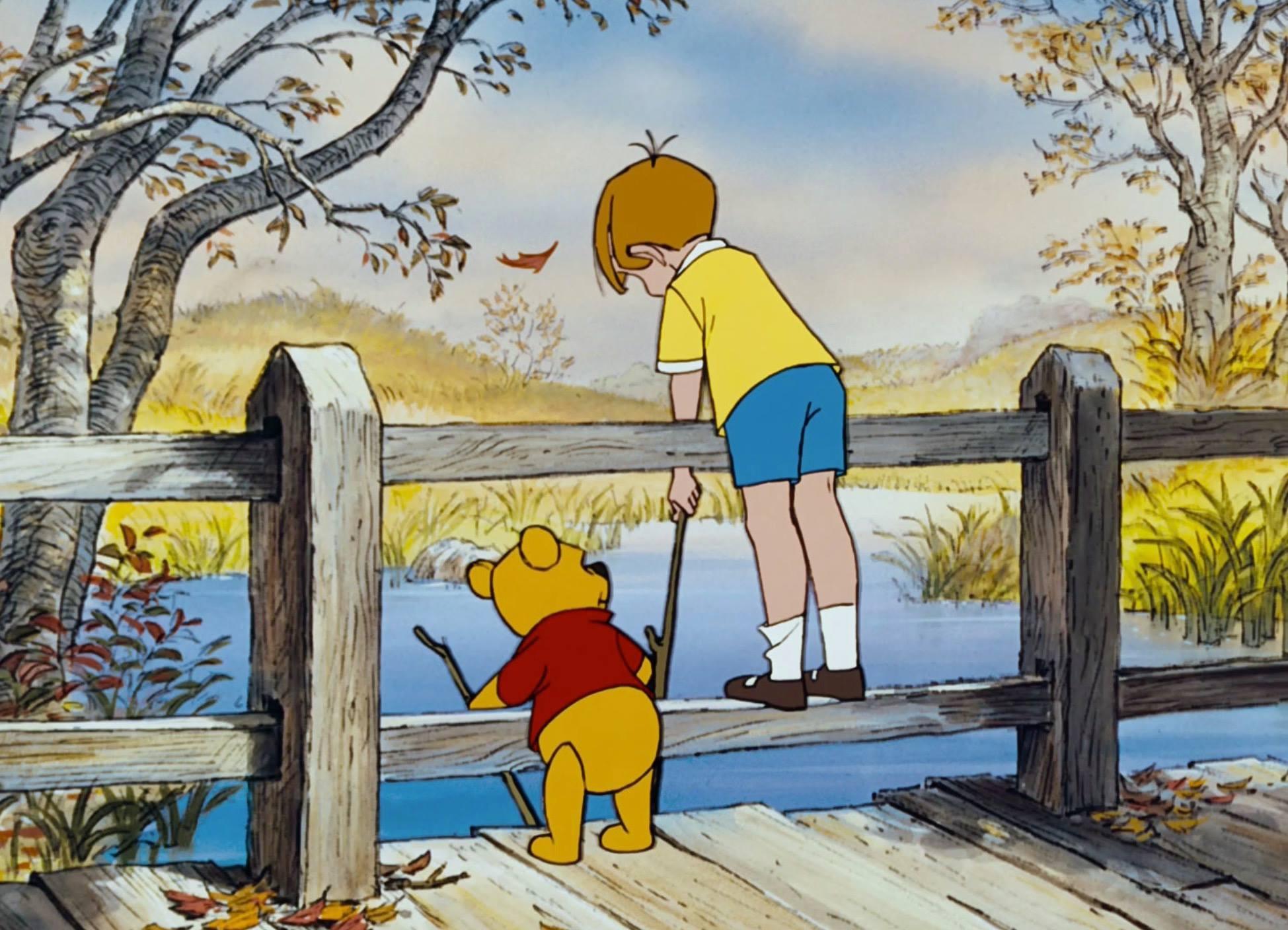 ▲▼克里斯多弗羅賓在電影中與維尼是最要好的朋友。(圖/翻攝自迪士尼「The Winnie The Pooh」Facebook)