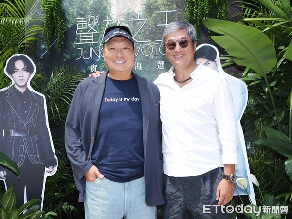 東森集團及量子娛樂共同製作的大型音樂選秀節目《聲林之王》(圖/記者徐文彬攝)