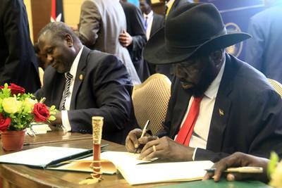 南蘇丹簽和平協議 5年內戰盼結束