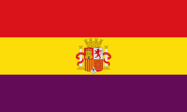 ▲▼西班牙第二共和國國旗。(圖/翻攝自維基百科)