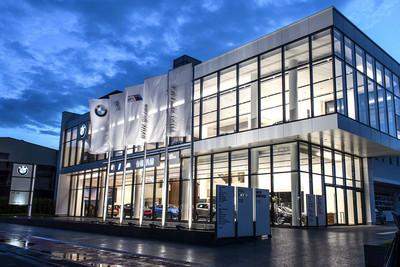 斥資9億BMW永康5S全功能展示中心