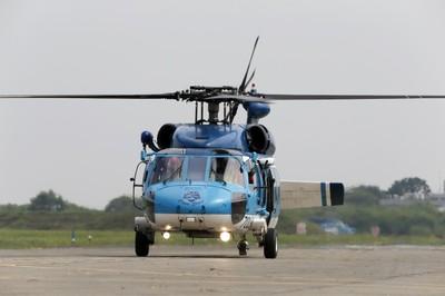 空軍證實:S-70C降落尾旋翼損毀 成立專案小組調查肇因