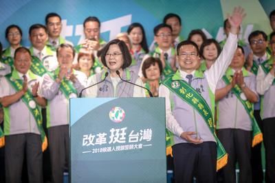蔡英文國家級政策助陣魏明谷!強攻王惠美重鎮
