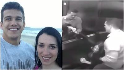 巴西柔術男「熊抱妻子撞牆」再從4樓拋屍 冷靜抹乾電梯血跡
